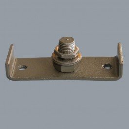 Screw-on Tree Mount Bracket - Rustic Brown