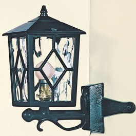 Royale - Corner Up Lantern - Black - E27