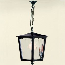 Grosvenor - Hanging Lantern - Black - E27