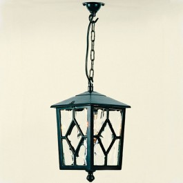 Royale - Hanging Lantern - Black - E27