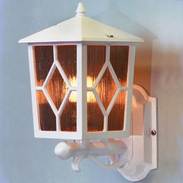 Royale - Wall Up Lantern - White - E27
