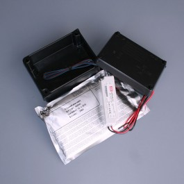 20w - 12v dc - Potted LED Power Supply in Ground Burial Enclosure
