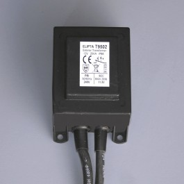Elipta Surface-mount Exterior Transformer - 12v ac - 20va