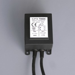 Elipta Surface-mount Exterior Transformer - 12v ac - 40va
