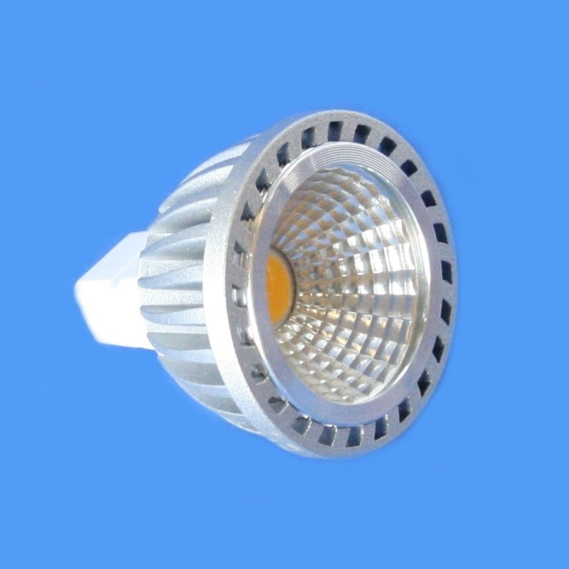7w 630lm MR16 COB Lamp - Warm White 2700K 60° Dimmable
