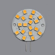 3w LED Disc Lamp - 12v G4 2700K 300lm
