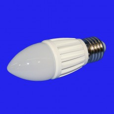 7w LED Candle Lamp 2700K - Non-dimmable 240v