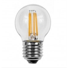 Elipta 4w - 470lm - Golf Ball Filament ES Clear Warm White 2700K LED Lamp