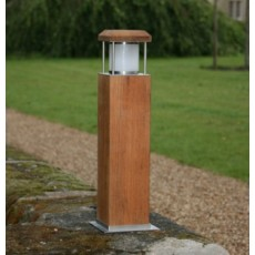 Cirrus 45 Bollard Light - Teak