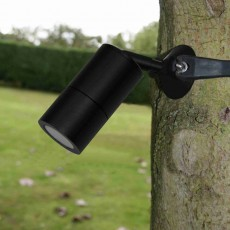 Strap-Mount Tree Spotlight MR11 -  Black