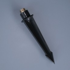 Black Polycarbonate Mounting Spike