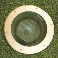 Elipta Persius 35 Recessed Uplight - 35w 36 ° - Sandblasted Brass