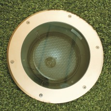 Elipta Olympus70 Recessed Uplight - 70w 36° - Sandblasted Brass