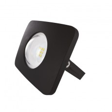 10w 240v Compact Floodlight - IP65 - Black 1000lm