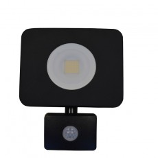 Compact Floodlight 240V 30w 4000k - 2700Lm  With PIR Sensor