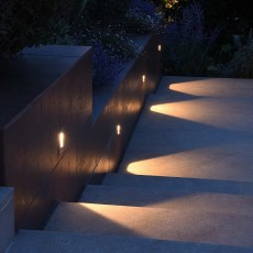 Elipta Phanzi Outdoor Wall Light - Warm White - Square - Stainless Steel