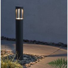 Elipta Senatrix Bollard Light - Graphite