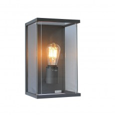 Elipta Kensington Outdoor Wall Light - E27 - Graphite