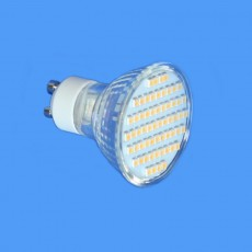 3w Warm White 120° Wide Beam LED Lamp - 240v GU10 250lm