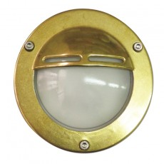 Chatham Eyelid Outdoor Wall Light - Solid Brass