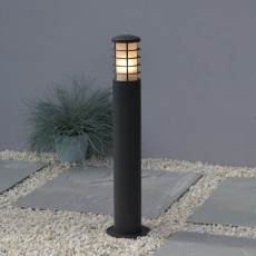Elipta Stella Bollard Light - Graphite