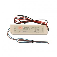 35w - 24v dc - Potted LED Power Supply