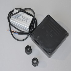 Elipta 10w - 12v dc - Potted LED Power Supply in IP65 Enclosure