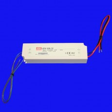 100w - 12v dc -  Potted LED Power Supply