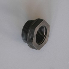 Cable Gland Adaptor - Black 25mm - 20mm