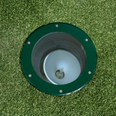 Elipta Olympus 70 Recessed Uplight - 70w 36° - Green