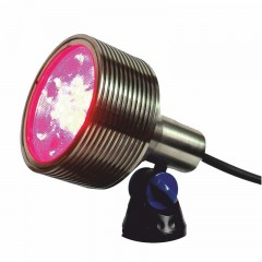 Luxes RGB - RGB 18w Underwater Spotlight with Clear Lens