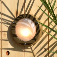 Chatham Outdoor Wall Light - Solid Brass