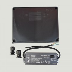 99w - 24v DC Potted Power Supply In IP65 Enclosure