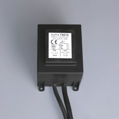 Surface mount garden lighting transformers