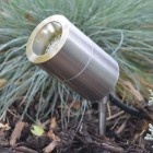 Compact Spike Spotlight - Stainless Steel - 12v MR16
