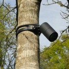 Strap-Mount Tree Spotlight MR16 -  Black