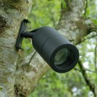 Elipta Screw-Mount Tree Spotlight GU10 - Black