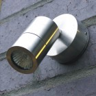 Elipta Microspot Outdoor Wall Spotlight- Stainless Steel - 12v MR11