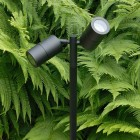 Pole Spot Duo - Black - 12v Outdoor Spotlight