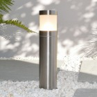 Elipta Compact Bollard Light - Stainless Steel - 240v E27