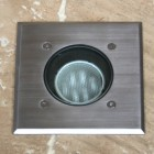 Modula Recessed Uplight - Stainless Steel - Square - 240v GU10