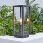 Elipta Kensington Outdoor Post Light - E27 - Graphite