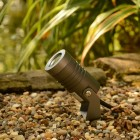 Elipta Spike5 garden spotlight - 12v - 5w - 400lm - 38° - 2700K - IP67 - Anodised Anthracite