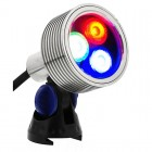 Elipta Brilliance RGB - 8w LED Underwater Spotlight with Clear Lens