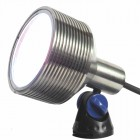Elipta Luxes - Warm White 12v 24w Underwater Spotlight with Clear Lens