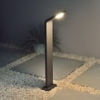 Insika Bollard Light - Graphite - Warm White LED