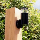 Aries Outdoor Wall Light - 12v - Black Anodised