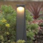 Elipta Vortex Bollard Light - Warm White - Graphite