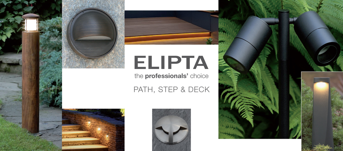 Elipta path step deck lights