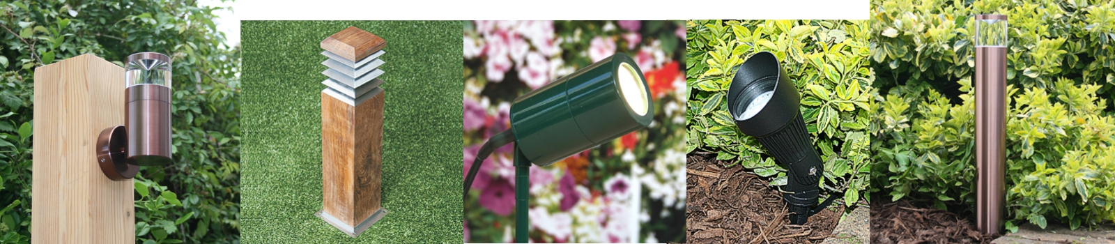Garden lighting and outdoor lights UK